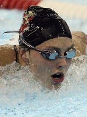 Corrin Van Lanen was a four-time Fox River Classic Conference swimmer of the year at Pulaski High School.