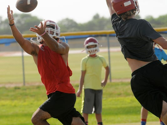 High School Football: Cocoa Beach Football Practice
