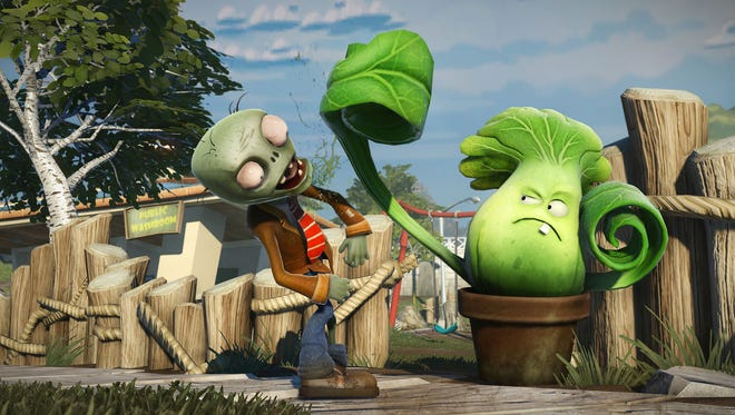 """""""Plants vs. Zombies: Garden Warfare"""" is being released for the PC, Xbox 360 and Xbox One."""