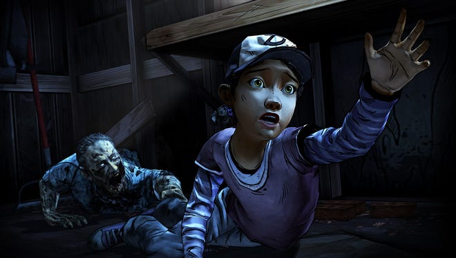 """Fight for your life as the young Clementine in Season Two of """"The Walking Dead"""" game series."""