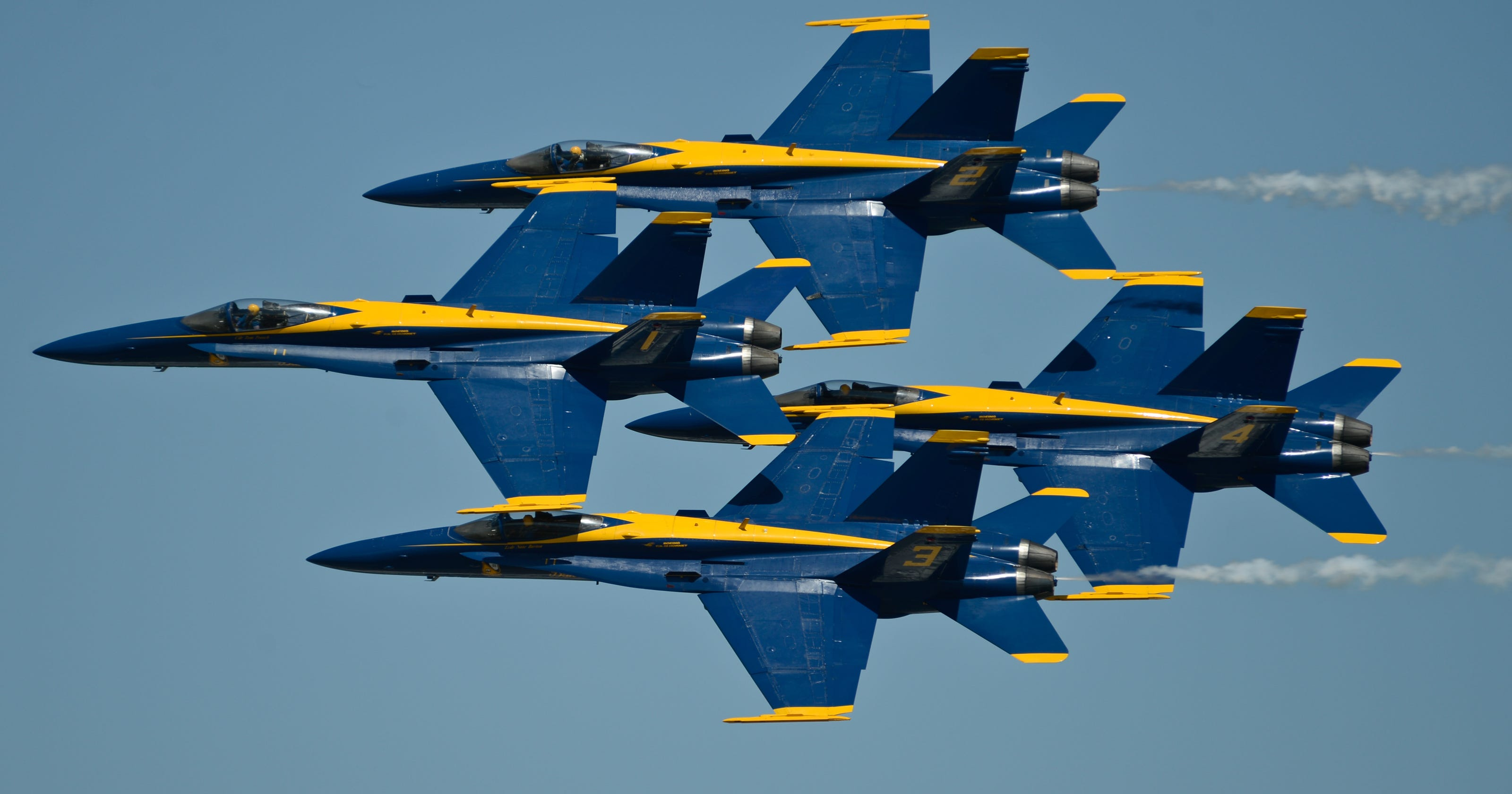 Navy restructures Blue Angels command
