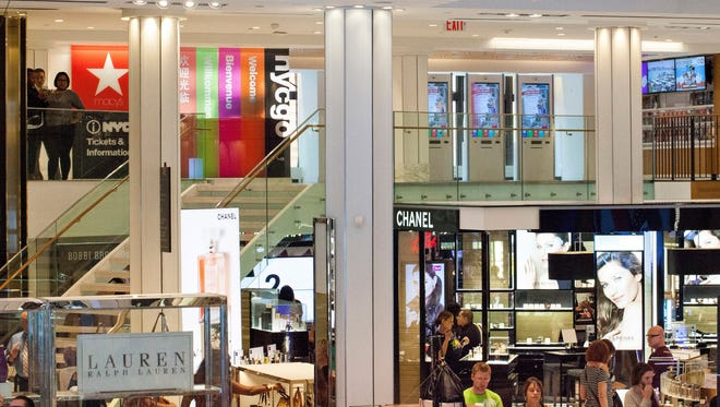 Macy's has opened a new visitors' center at its flagship store in New York City.