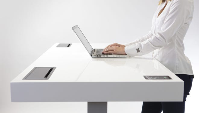 Stir's Kenetic Desk lets you work and sit
