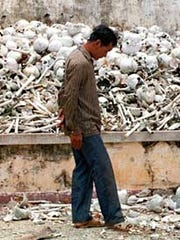 The Khmer Rouge's genocidal campaign in Cambodia still resonates in the country.