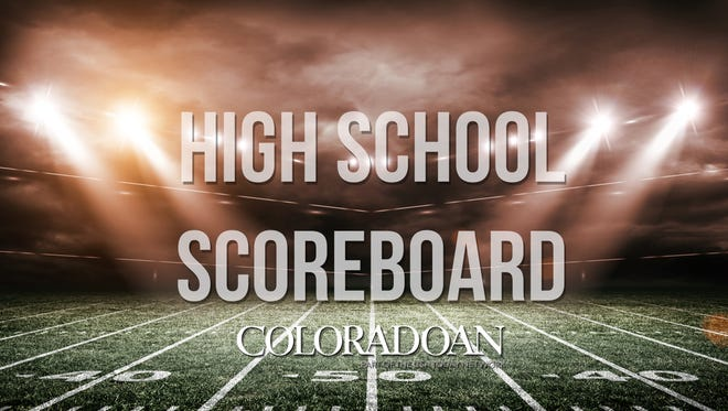 High school sports scores from around Northern Colorado.