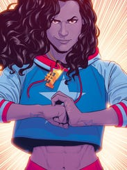 America Chavez is the Latin-American lesbian heroine