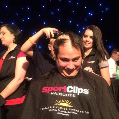 Cut for a Cure support Pediatric Cancer Foundation