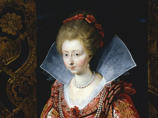 Rubens portrait of Charlotte Marguerited de  Montmorency