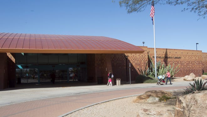 The Foothills Branch Library in Glendale