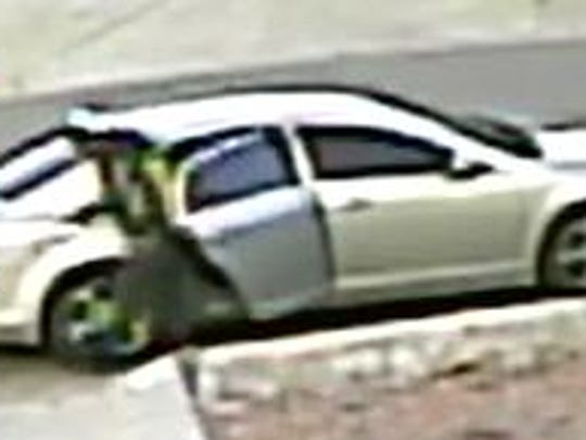 Surveillance footage shows suspects wanted in connection