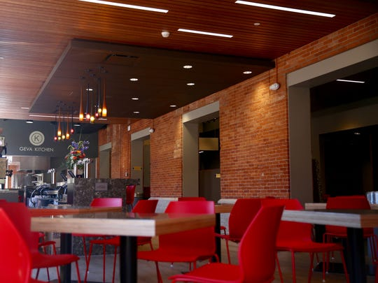The new Geva kitchen will now offer more items than the previous cafe did at Geva Theatre.