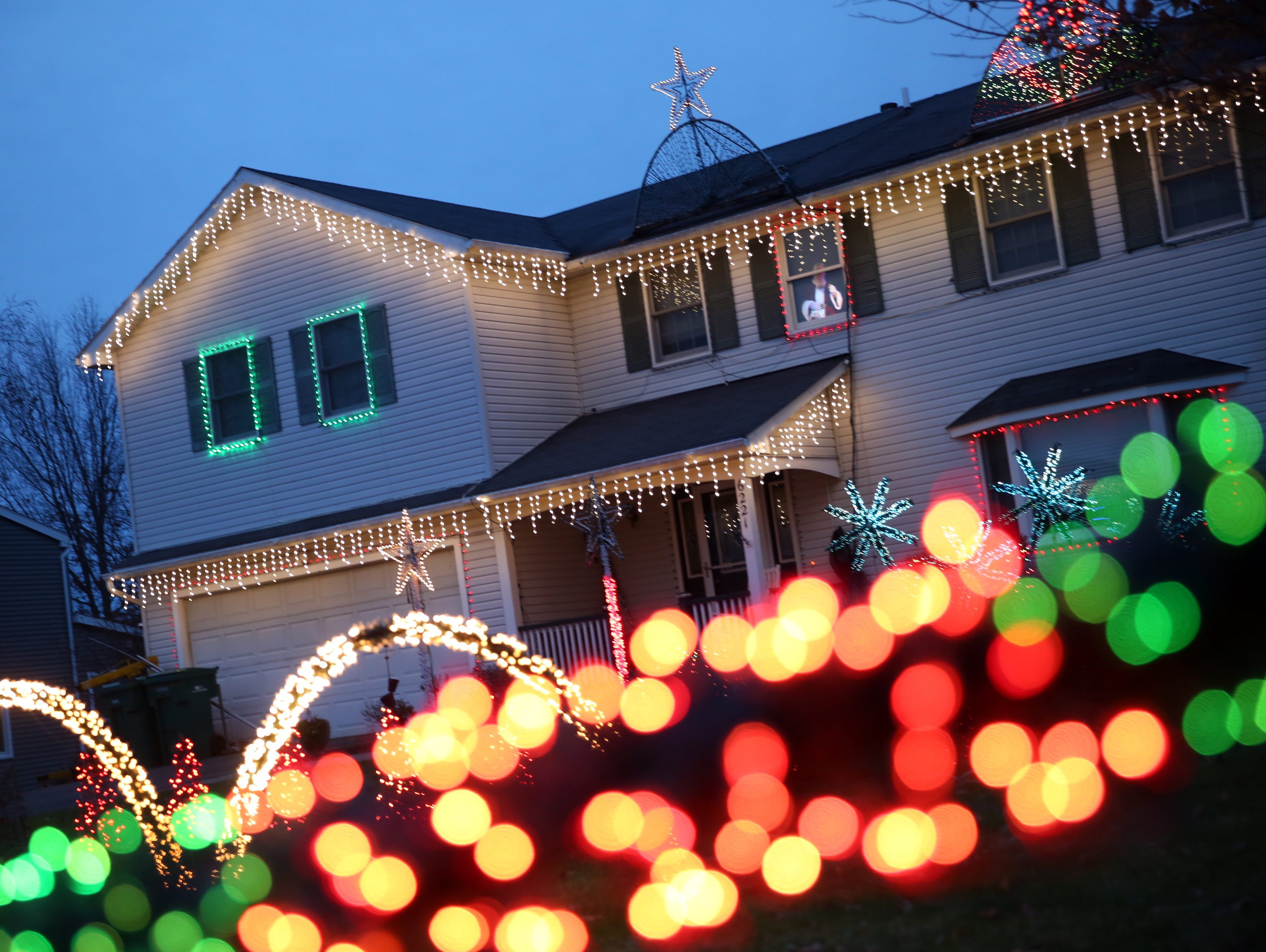 Rochester-area homes light up for the holidays