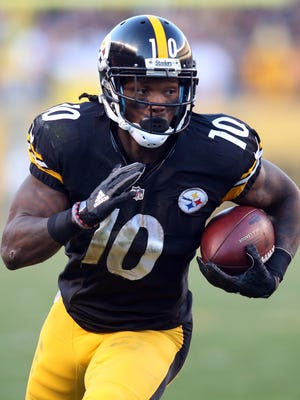 Suspended Steelers WR Martavis Bryant will not play in 2016.
