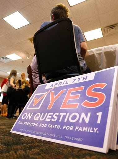 Springfield voters narrowly voted to repeal the SOGI ordinance.