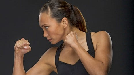 Michelle Waterson hopes Invicta alliance with UFC leads to bigger opportunities.