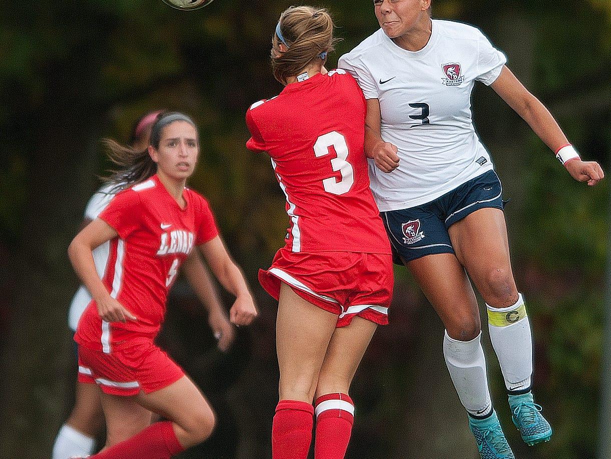 Varsity Girls Soccer: Lenape at Eastern