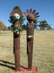 John Harris, metal sculptor, will be an artist at the