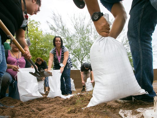 Tempe sand bags