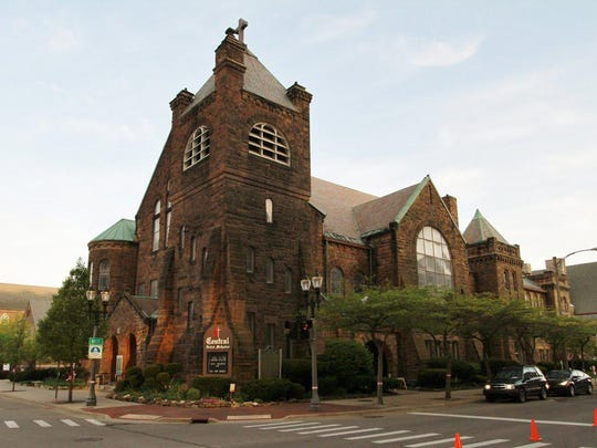 After being abruptly ousted from their previous space, Peppermint Creek Theatre is now housed in Central United Methodist Church in downtown Lansing.