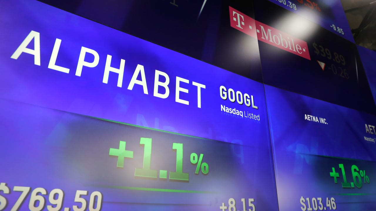 Alphabet got good news when it's earnings came in higher than expected.