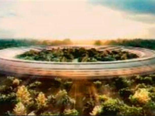 Cupertino city council endorses Apple campus plan