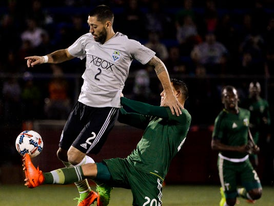 MLS: Desert Friendlies-Seattle Sounders vs Portland Timbers