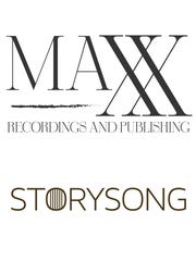 Logos for two Nashville record labels: Maxx Recordings