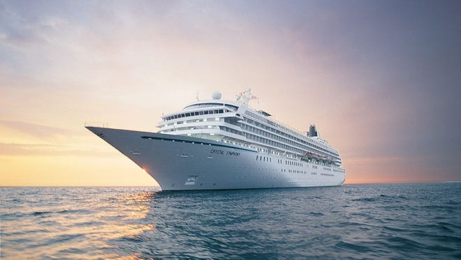 Luxury line Crystal Cruises' Crystal Symphony recently underwent a massive makeover.