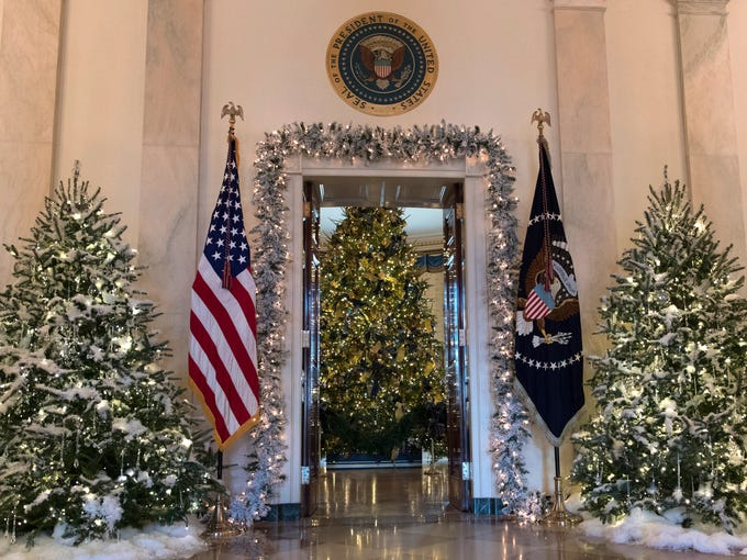 none the official white house christmas - The White House Christmas Decorations 2017