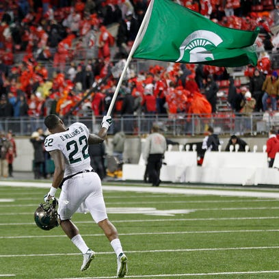 Michigan State Spartans running back Delton Williams