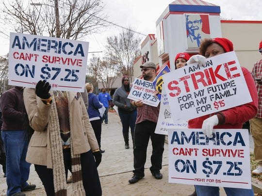 Fast food worker strikes have propelled the movement toward a $15 minimum wage.