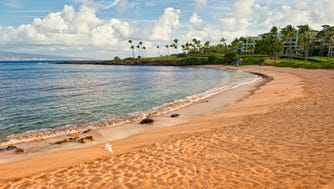 "Kapalua Bay Beach in Maui, Hawaii, is the USA's best beach, according to an annual survey by ""Dr. Beach."""