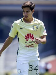 Diego Lainez, ex jugador del América.