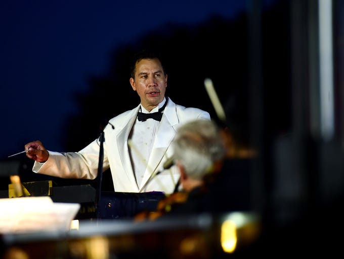 The Binghamton Philharmonic performs Pops on the River