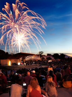 Fireworks will fill the skies across the Milwaukee area throughout the long Fourth of July weekend.
