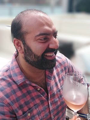Vivek T. Surti, founder of VEA Supper Club and director of public relations, Nashville Wine Auction.