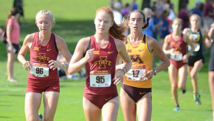Mile posts: Items on Iowa State cross country and Edwin Kurgat and Anne Frisbie, Adva Cohen, Iowa Central cross country, Wartburg College's Sam Pinkowski and Carina Collet, TJ Tollakson