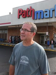 Dan Dunphy of Nanuet shops at the Pathmark in Nanuet Oct. 9, 2015.