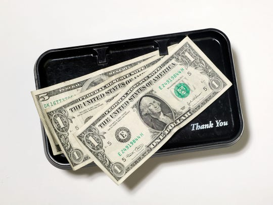 14% of Millennials pick the lowest pre-entered tipping options when dining out.