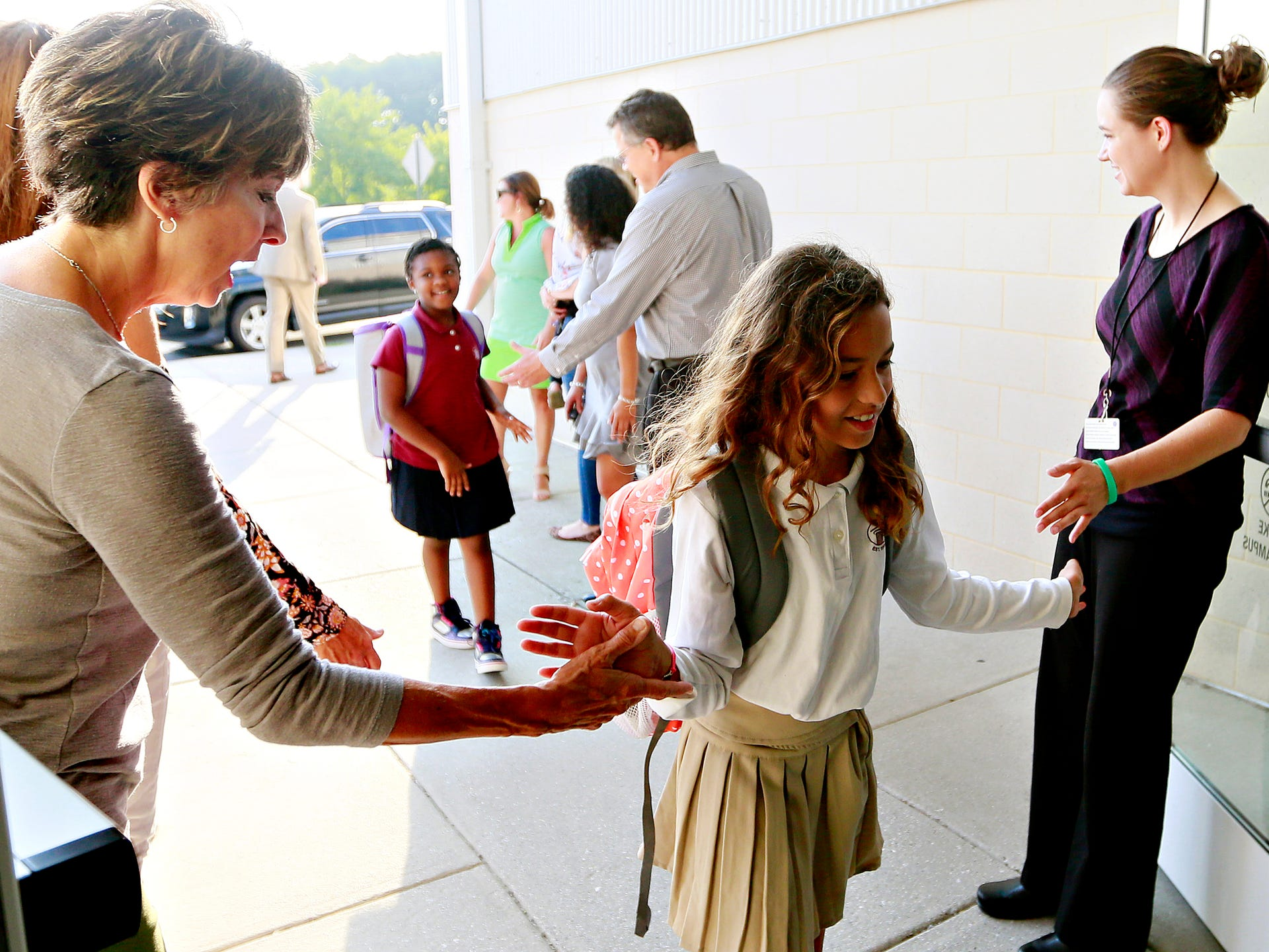 PHOTOS: First day of school at Logos Academy