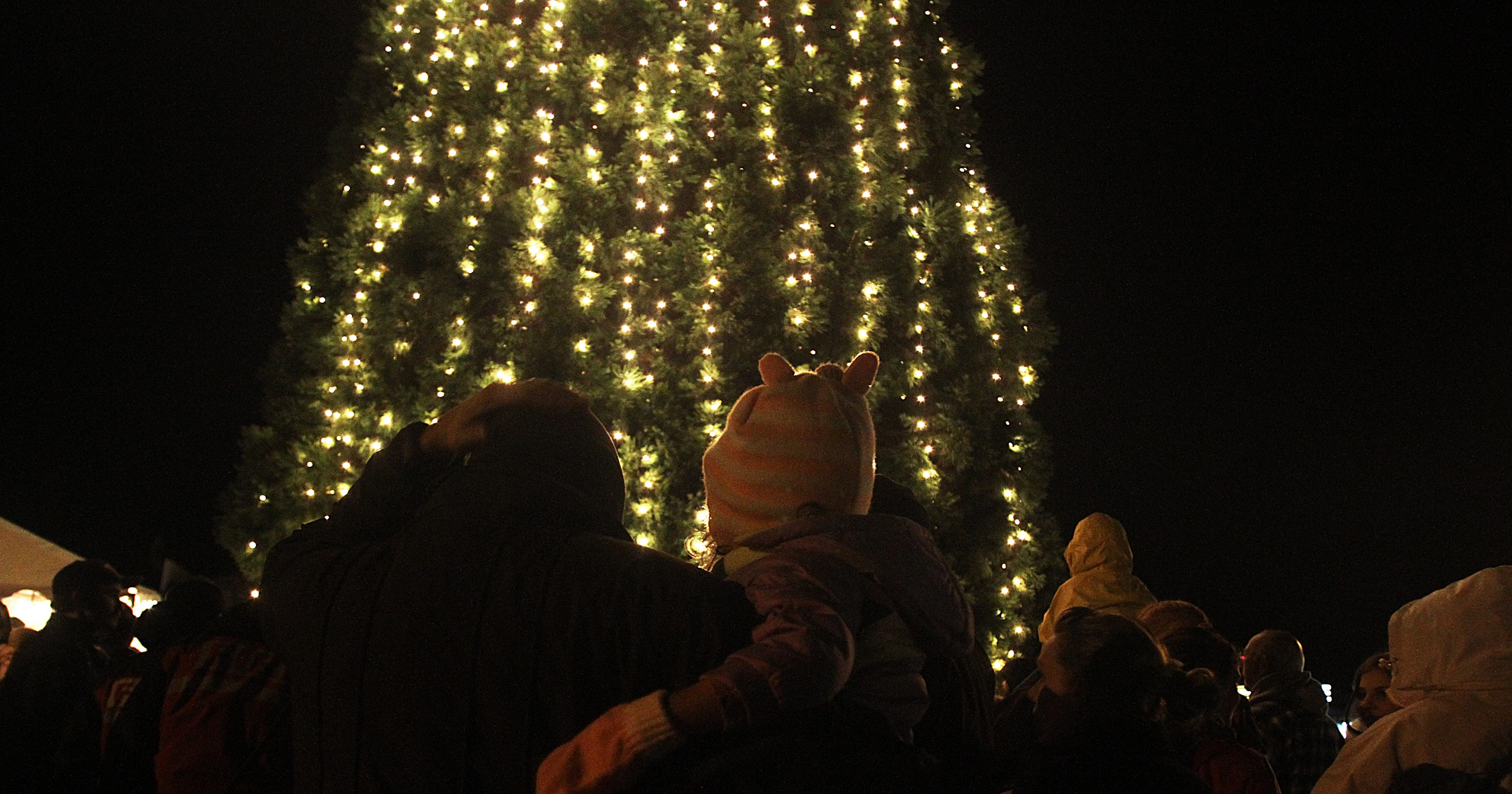 Local tree lightings and events
