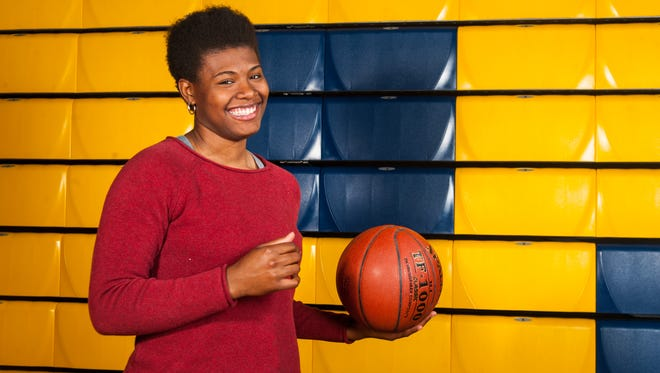 Known as a force to be reckoned with on the court, Bayside South Player of the Year Dynaisha Christian is one of the most light-hearted student-athlete's off the court.