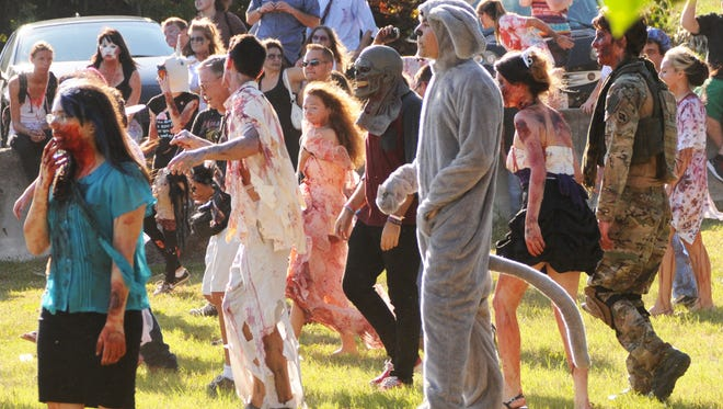 Fearing Saturday's auditions might look like a scene from Melbourne's annual Zombie Walk. the director has capped auditions and is fully booked.