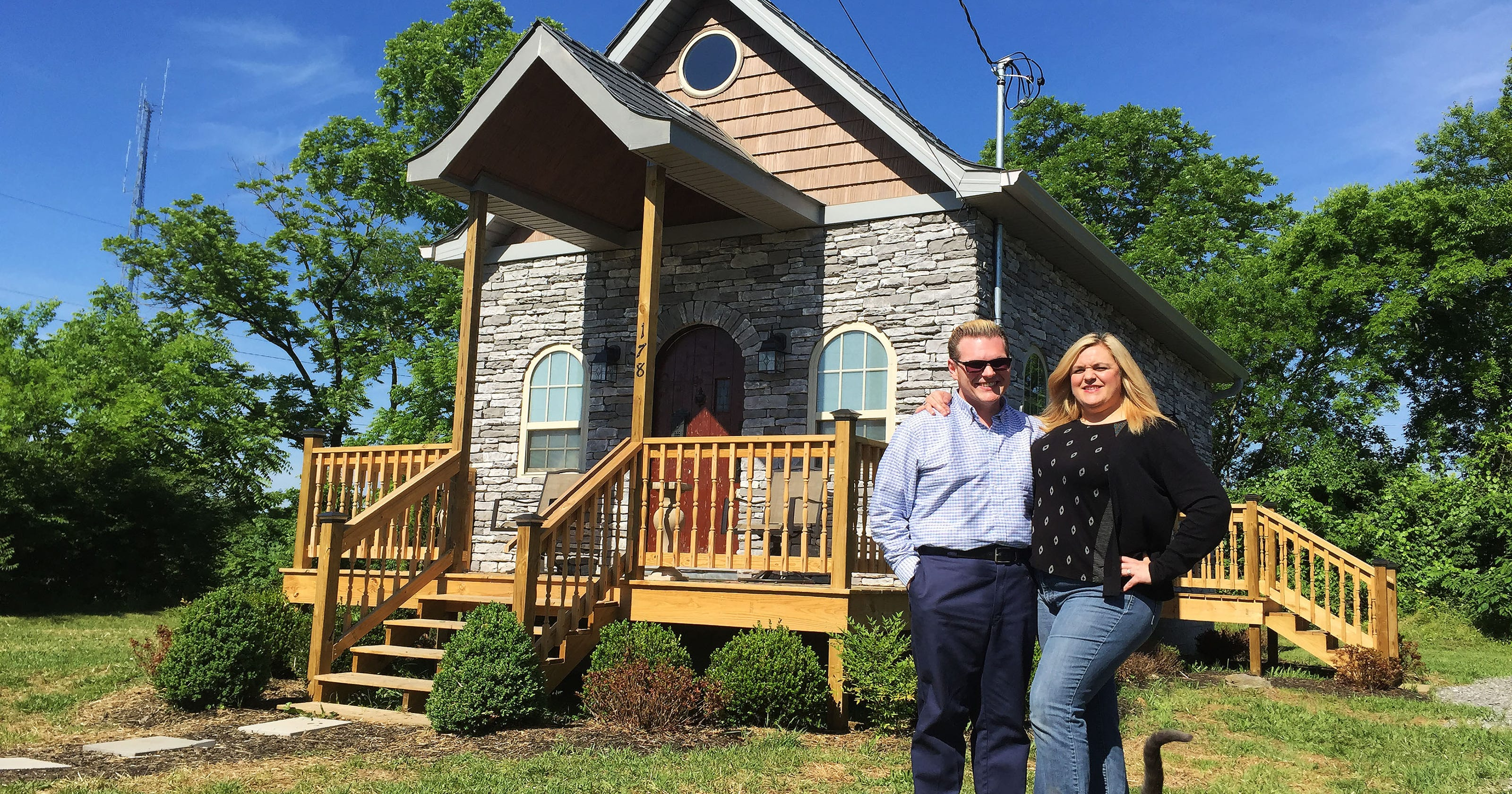 Tiny House Family Lives More With Less