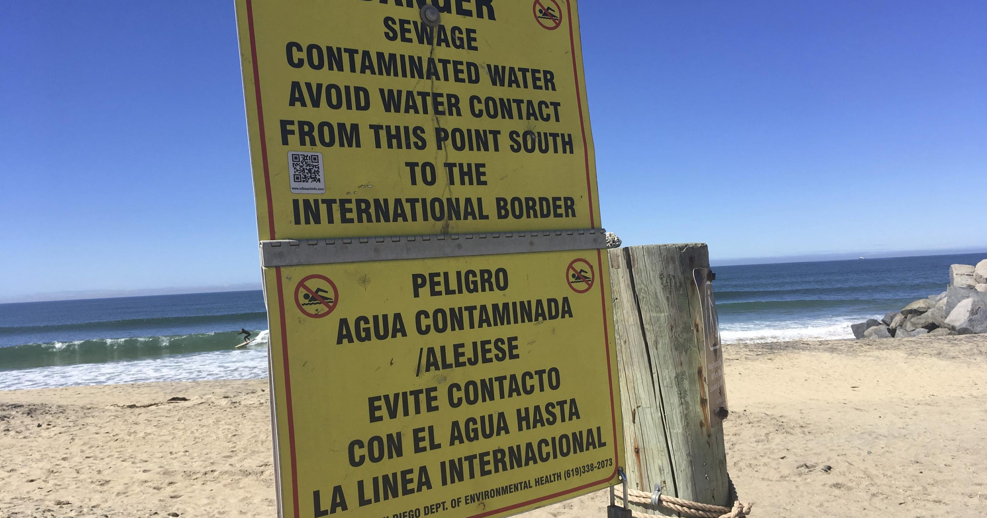 San Diego-areas sue to stop Mexican sewage flow