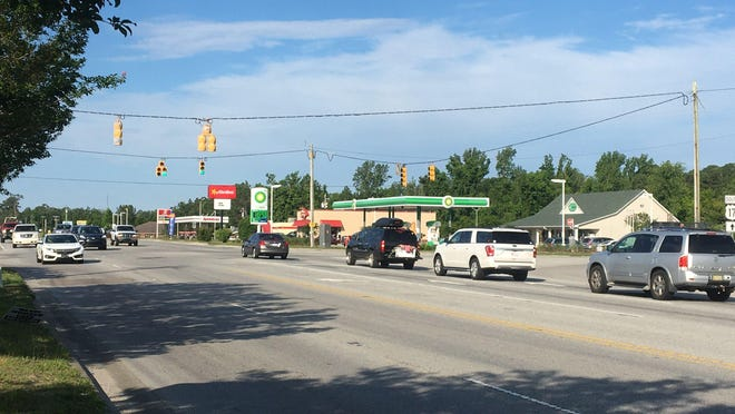 The Hampstead Bypass, set to relieve the congestion at U.S. 17 and N.C. 210. The project is expected to break ground in the next year, but with the NCDOT cash-strapped the project could still face hang-ups.