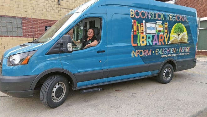 The Boonslick Regional Library van now is operating as a Wi-Fi hotspot for rural communities in Pettis, Benton and Cooper counties through CARES Act funding. June 25, 2020