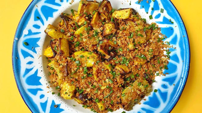 Summer squash is transformed completely -- and triumphantly -- in the air fryer.
