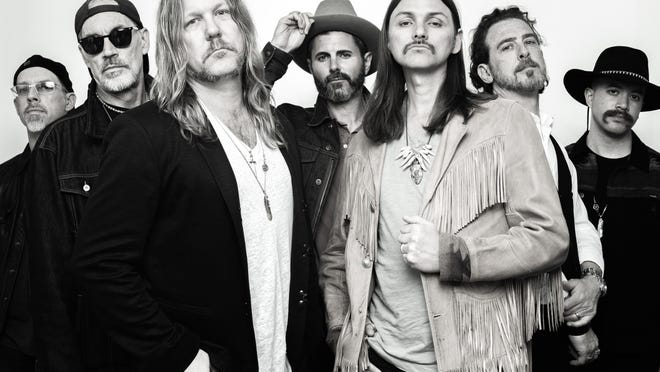 The Allman Betts Band will play Aug. 20 at the Yarmouth Drive-In on Cape Cod. The seven-piece ensemble, which is releasing a new album later this month, features the sons of members of the Allman Brothers Band.