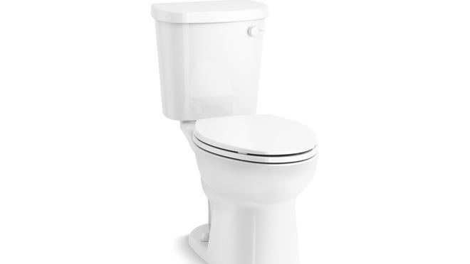 Many people find elongated toilet bowls to be a little more comfortable.